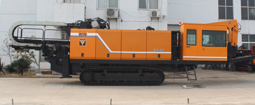 Trenchless Horizontal directional Drilling machine pipe pulling HDD machine DL1600