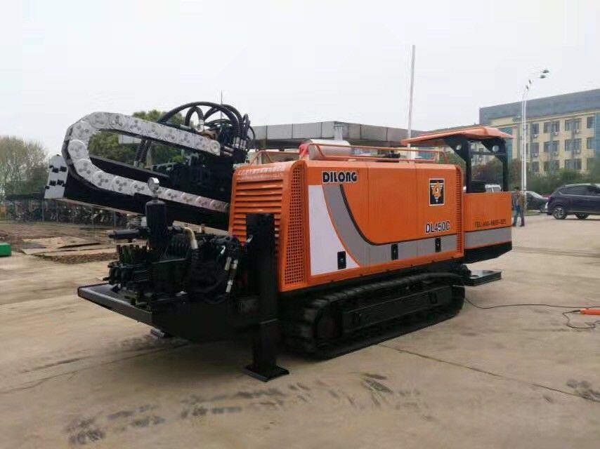 Hydraulic Horizontal Directional Underground Boring Machine Cable Laying DL450C