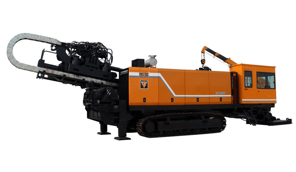 No Dig Horizontal Directional Drilling Machine  DL1600 Pipe Pulling HDD Machine