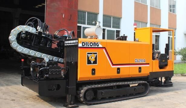 20 Ton Horizontal Drilling Machine with auto anchoring and auto loadin