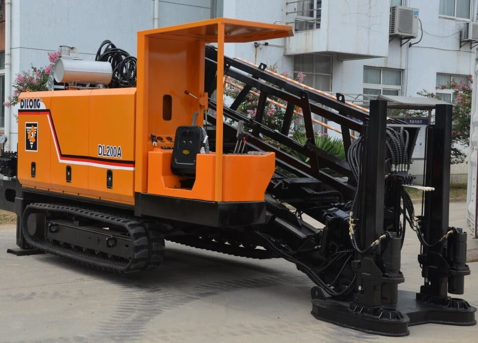 20T Auto Loading / Anhoring Hdd Drilling Equipment / Road Boring Machine For Sale