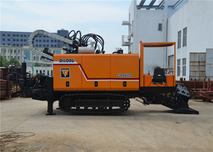 Rotation Hydraulic System HDD Drilling Machine Pipe Pulling 120RPM