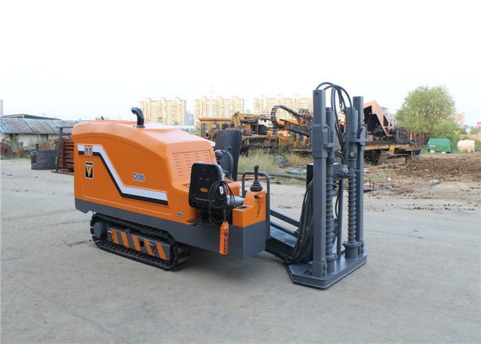 8T Directional Boring Machine For Sale Cable Laying Equipment DL80 For Trenchless Drilling