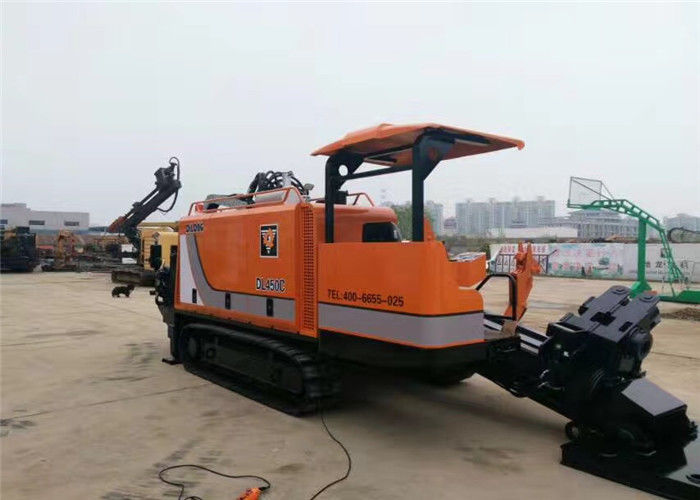 Five - Pump Hydraulic Drilling Rig With Cable Laying Equipment DL450C