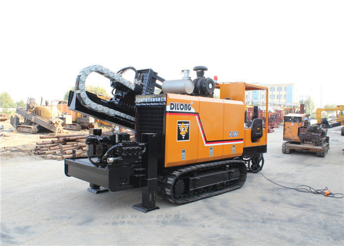 Automatic Crawler Hdd Horizontal Directional Drilling  / Trenchless Drilling