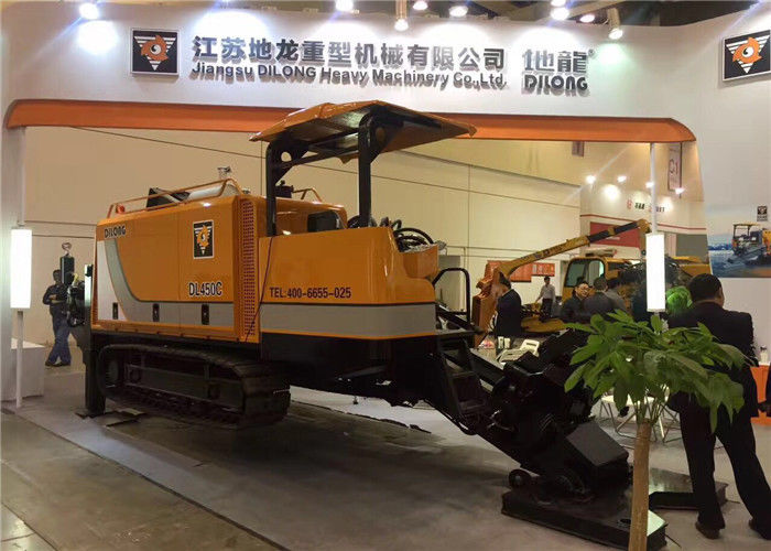 450KN Hydraulic Crawler Drilling Machine / Horizontal Directional Drilling Equipment For Sale