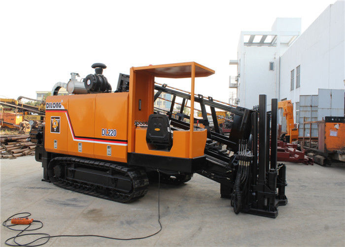 Trenchless Horizontal directional HDD machine underground pipe laying under DL220