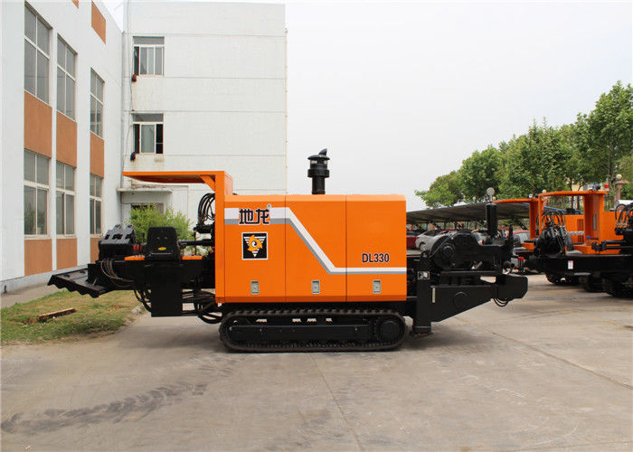 High Efficient Horizontal Directional Drilling Equipment Trenchless Rig For 33 Ton
